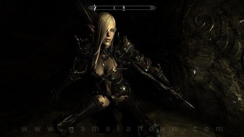 Nữ chiến binh Tera Online gợi cảm trong Skyrim 9