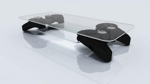 Những mẫu bàn cafe kết hợp thiết bị chơi game cực độc 4