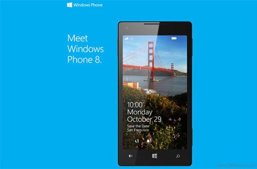 Windows Phone 8 sẽ phát hành cuối tháng 10 2
