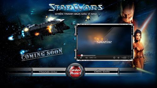 Xuất hiện trang giới bí ẩn mang tên Star Wars 2