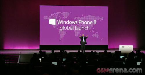 Windows Phone 8 lên kệ từ đầu tháng 11 1