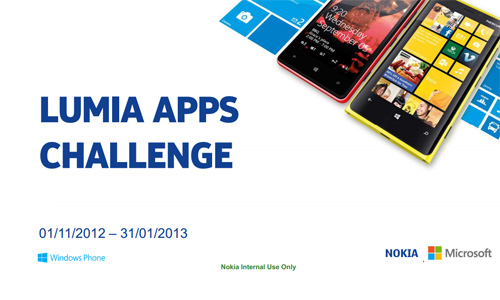 Nokia công bố cuộc thi Lumia Apps Challenge 1