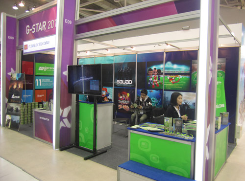 VTC Online mang game Việt đi giới thiệu tại Gstar 2012 4