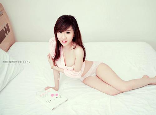 Hotgirl Nu Phạm nóng bỏng trong bộ ảnh mới 1