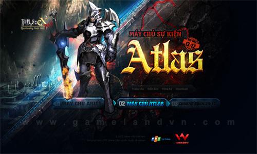 Ngày mai MU Việt Nam ra mắt máy chủ sự kiện Atlas 2