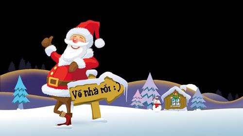 """Lâu Đài Số ra mắt game """"Santa đóng băng"""" 4"""