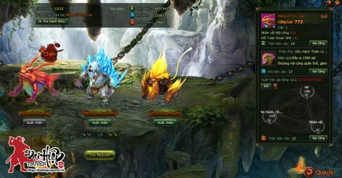 Những tính năng nổi bật của webgame Đại Hiệp Truyện 3