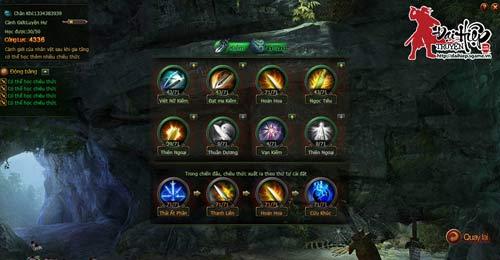 Những tính năng nổi bật của webgame Đại Hiệp Truyện 4