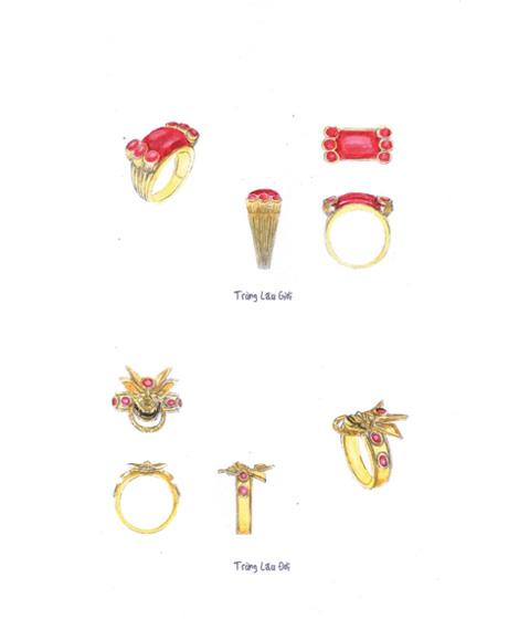 TLBB: Lộ bản vẽ thiết kế bộ trang sức Trùng Lâu