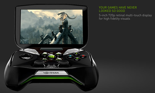 Nvidia giới thiệu máy chơi game Project Shield 3
