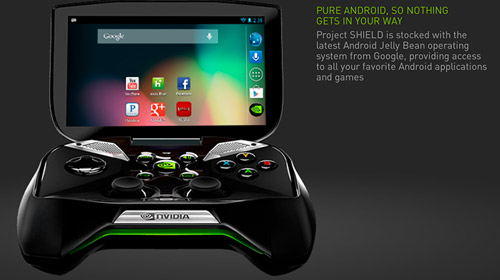Nvidia giới thiệu máy chơi game Project Shield 6