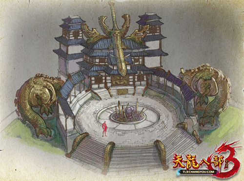 FPT Online hé lộ hình ảnh của Thiên Long Bát Bộ 3 4