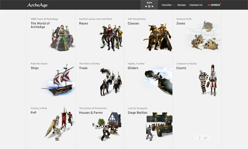 ArcheAge xuất hiện trang giới thiệu bằng tiếng Anh 1