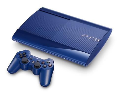 Sony bán giới hạn PlayStation 3 Super-Slim đỏ và xanh 2