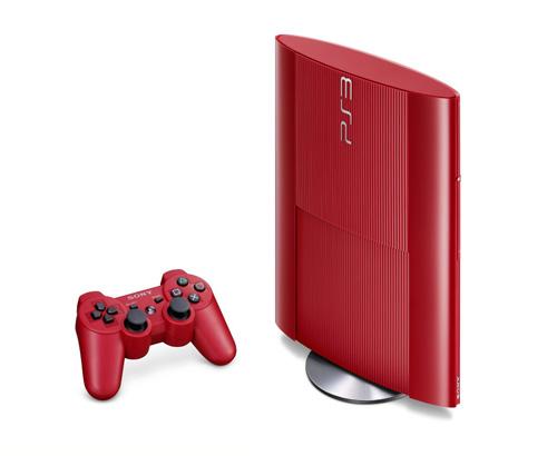 Sony bán giới hạn PlayStation 3 Super-Slim đỏ và xanh 5