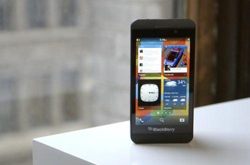 BlackBerry Z10 và Q10 chính thức trình làng 2