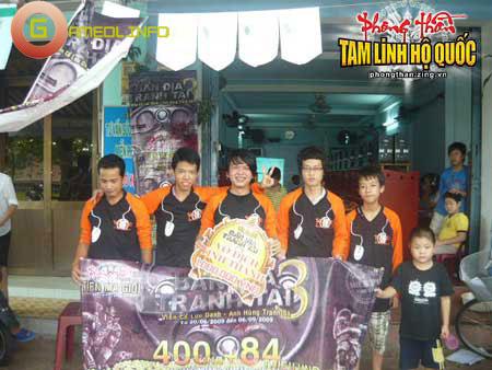 Lãnh Huyết giữ vững ngôi vị vô địch Bản địa tranh tài 3