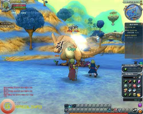 Những hình ảnh mới nhất về Dragon Ball Online 21