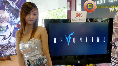 Duyên dáng cùng người đẹp RF Online 3
