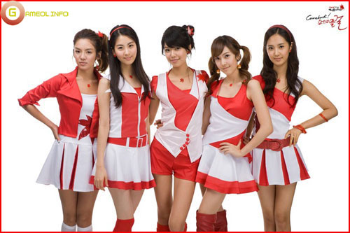 Girls Generation rực rỡ trong cosplay Maple Story 3