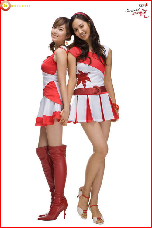Girls Generation rực rỡ trong cosplay Maple Story 8