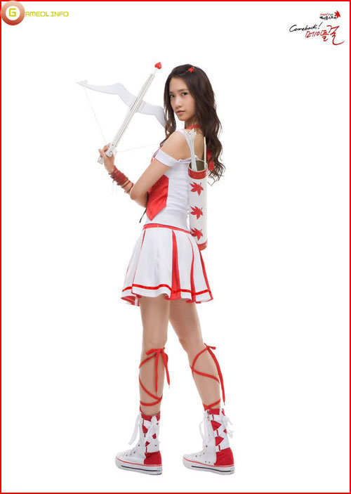 Girls Generation rực rỡ trong cosplay Maple Story 9