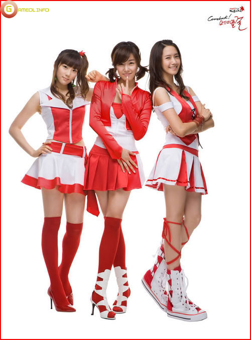 Girls Generation rực rỡ trong cosplay Maple Story 10