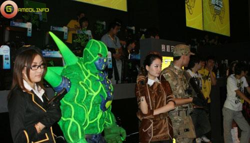 Người đẹp và cosplay tại Tencent Games 2009 (2) 5