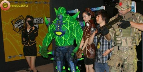 Người đẹp và cosplay tại Tencent Games 2009 (2) 6