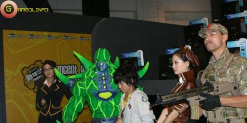Người đẹp và cosplay tại Tencent Games 2009 (2) 7