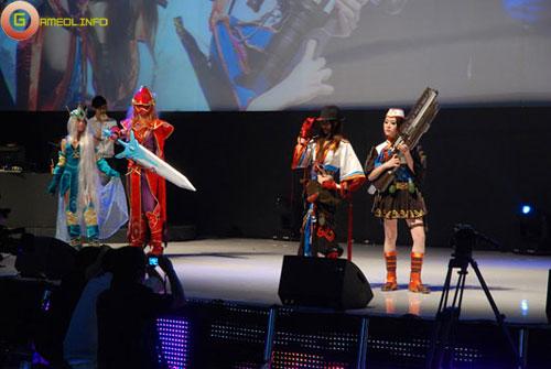Người đẹp và cosplay tại Tencent Games 2009 (2) 12