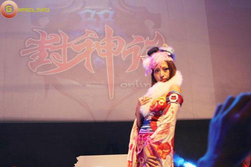 Người đẹp và cosplay tại Tencent Games 2009 (1) 23