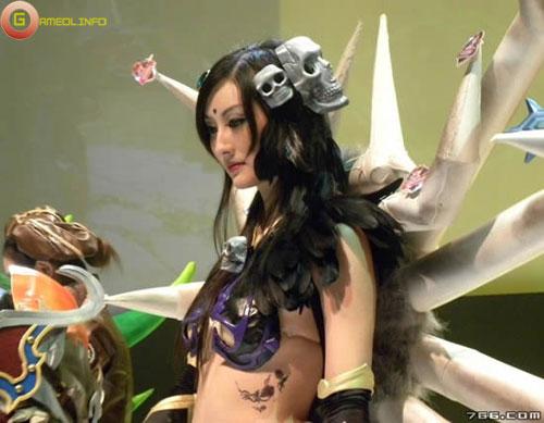 Người đẹp và cosplay tại Tencent Games 2009 (2) 17