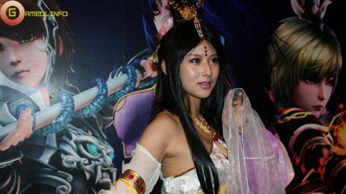 Người đẹp và cosplay tại Tencent Games 2009 (2) 21