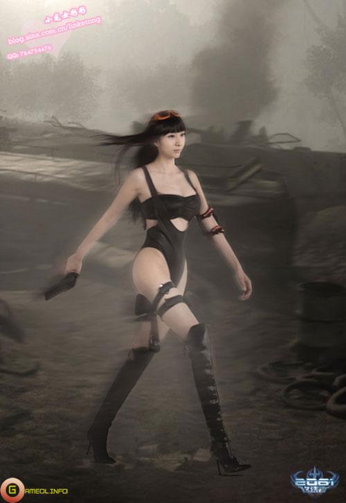 Tiểu Long Nữ sexy với cosplay 2061 2