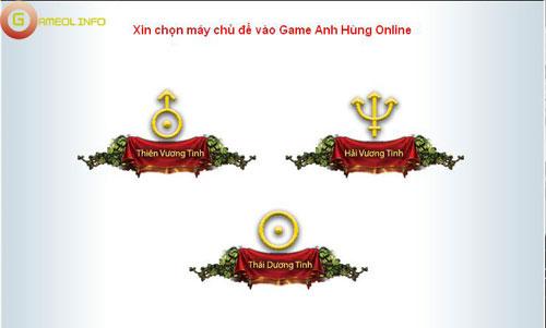 Anh Hùng Online ra mắt máy chủ Thái Dương Tinh 2