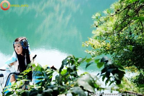 Thiếu nữ Thuần Dương Quan dịu dàng với thiên nhiên 2