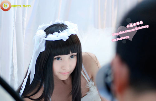 Lâm Kha Đồng dịu dàng với trang phục thiên sứ 2