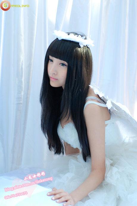 Lâm Kha Đồng dịu dàng với trang phục thiên sứ 9