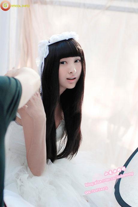 Lâm Kha Đồng dịu dàng với trang phục thiên sứ 10