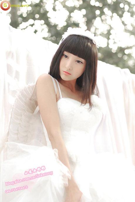 Lâm Kha Đồng dịu dàng với trang phục thiên sứ 11