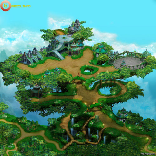 Những hình ảnh mới nhất về MMORPG Altis Gate 5