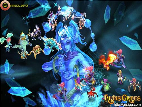 Những hình ảnh mới nhất về MMORPG Altis Gate 13