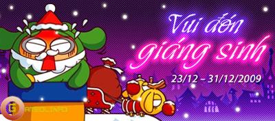 Xứ Boom tưng bừng sự kiện nhân dịp Giáng sinh