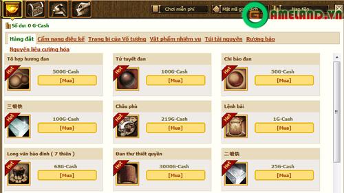 Phong Vân Tam Quốc: Di Lăng nổi sóng cùng phiên bản 2.3 2