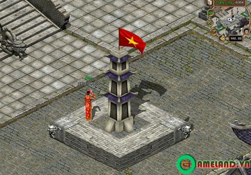 Game thủ Thuận Thiên Kiếm chào cờ và hát quốc ca 1