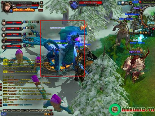 Khám phá lãnh thổ loài rồng trong Kiếm Tiên 3