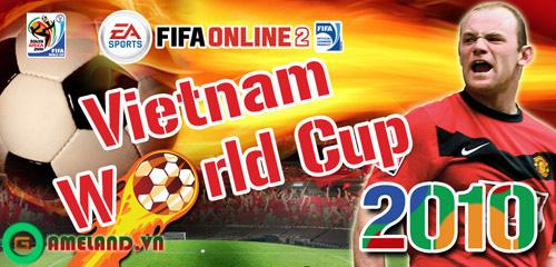 Đội tuyển Việt Nam có mặt trong Fifa World Cup 2010 1