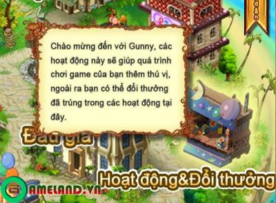 Xứ sở Game Online tặng Giftcode tân thủ Gunny Online 2