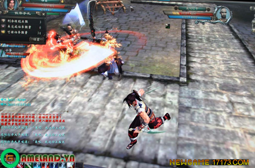 Lưu Tinh Hồ Điệp Kiếm hé lộ thông tin về gameplay 19